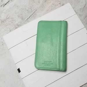 Buxton Leather ID Wallet